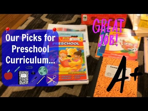 Preschool Curriculum 2016-2017
