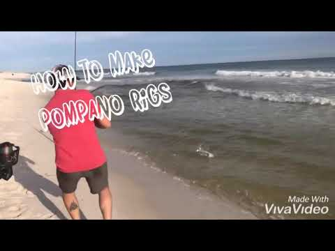 How To Make Pompano Rigs (the Easy Way)
