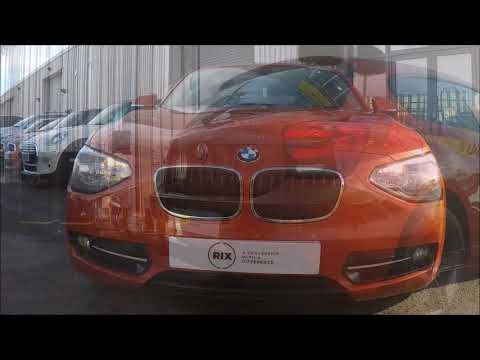 BMW 1 Series 116d SPORT Finished In Valencia Orange At Rix Motor Company