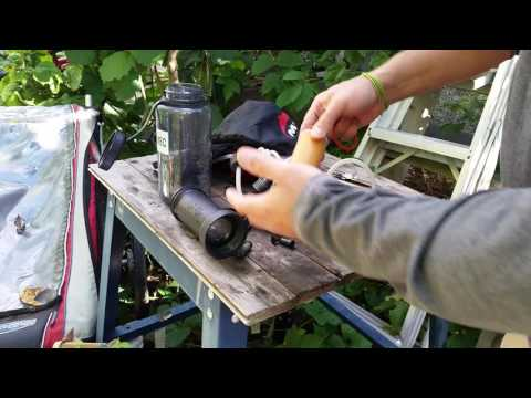 Maintaining an MSR Water Filter