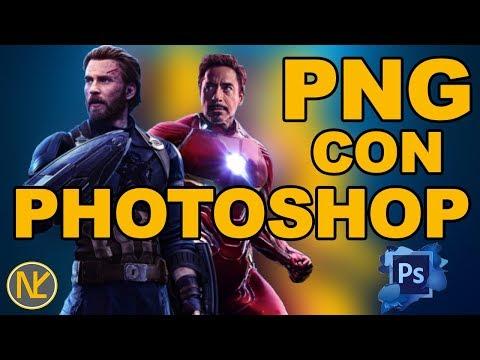 Png Con Photoshop [TUTORIAL]