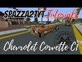Minecraft Chevrolet Corvette C1 Tutorial