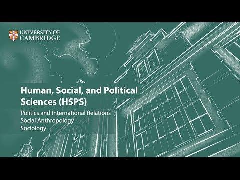 Human, Social, and Political Sciences (HSPS) at Cambridge