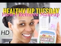 Remove Makeup with Coconut Oil  | Healthy Tip Tuesday Ep #5 | Tia Kirby