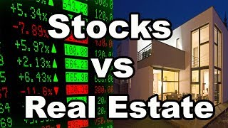 Pros and Cons of Stocks vs Real Estate: Is one better than the other?