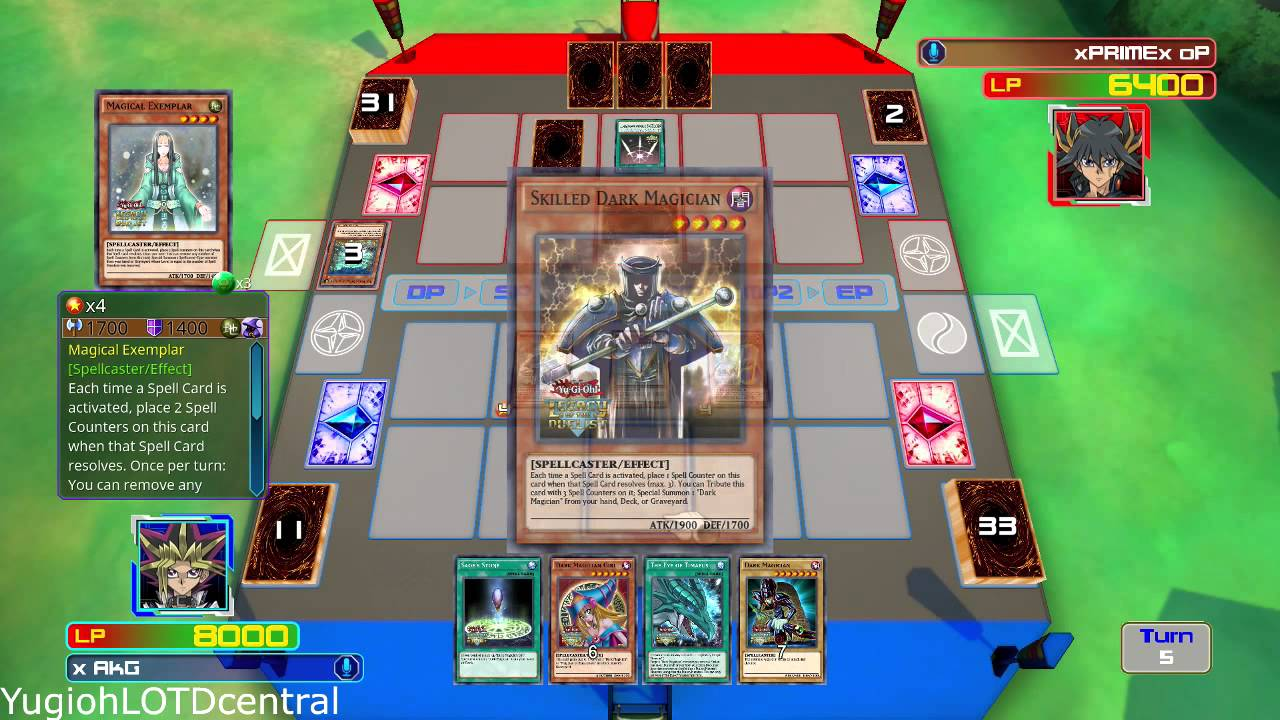 Yu-Gi-Oh! Legacy of the Duelist The Eye of Timaeus Deck ...