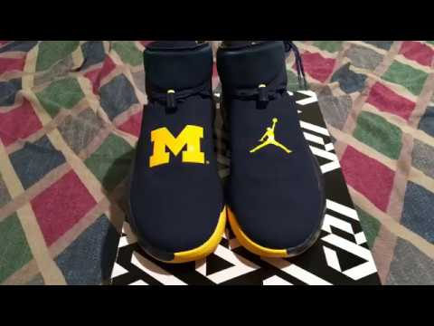 new styles e6bbb b38e7 Jordan Russell Westbrook Why Not Zer0.1 Michigan PE