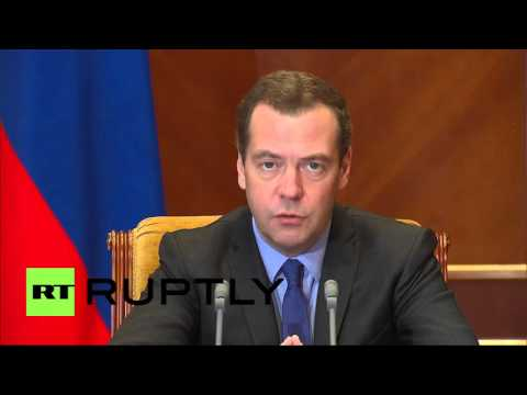 Russia: Medvedev discusses federal budget balancing in Moscow
