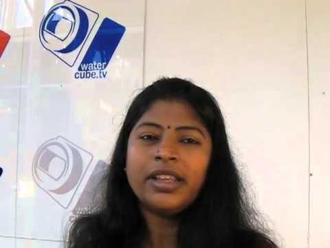 Lalitha Subramanian: Youth Development worker and specialist in Water Governance from India.