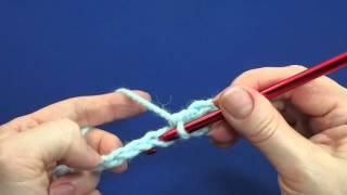 Как начать вязать крючком. Вязание петель первого ряда 3 способа Урок 9