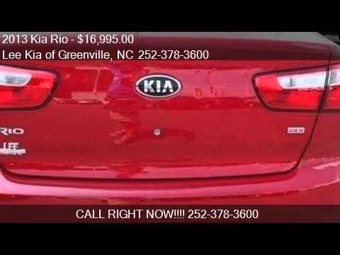 2013 Kia Rio   For Sale In GREENVILLE, NC 27834