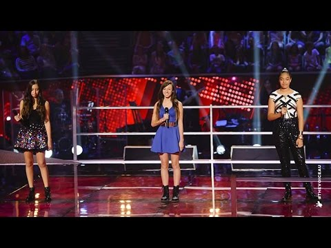 Maddison, Kayla Jo and Malia Sing Diamonds | The Voice Kids Australia 2014