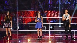 Maddison, Kayla Jo and Malia Sing Diamonds | The Voice Kids Australia 2014