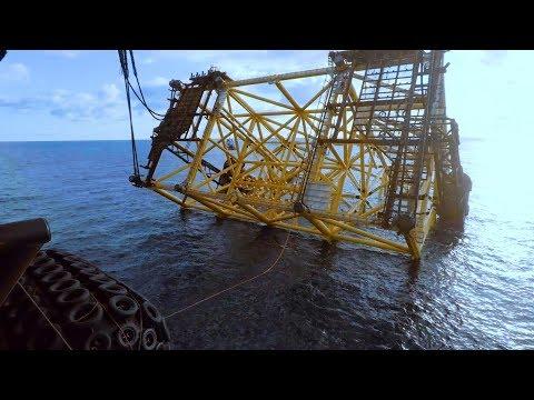 Johan Sverdrup Drilling platform jacket launch – Spring 2018