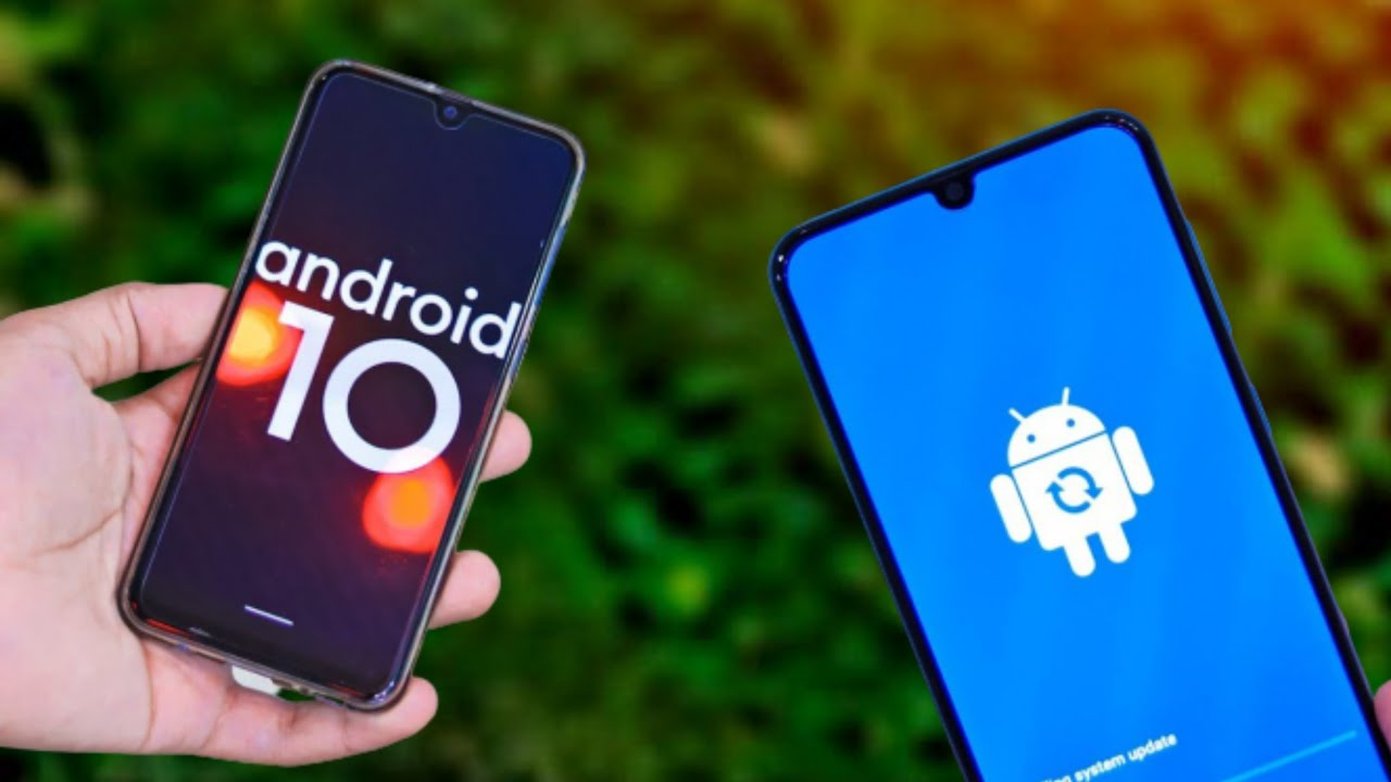 Android 10 Samsung A50