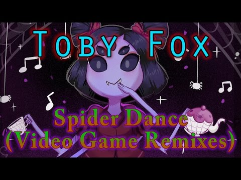 "Toby Fox - ""Spider Dance"" (Video Game Remixes Remix) [Audiosurf 2] ""60 FPS"""