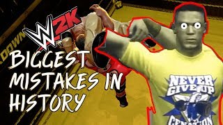 The BIGGEST Mistakes in WWE Games History! - No Mercy! Online! Created Finishers! 2K + THQ Evolution