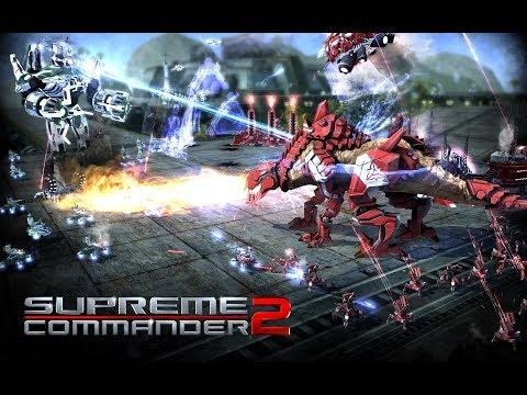 Как установить и играть по сети в Supreme Commander 2