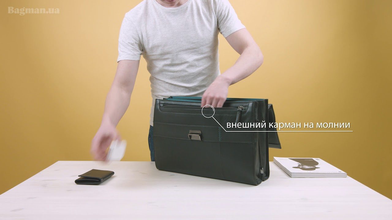 a68de2e1db37 Обзор сумки для ноутбука Samsonite Formalite LTH Briefcase 2 Gussets 15,6