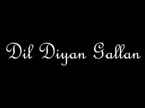 Dil Diyan Gallan Song karaoke instrumental teaser