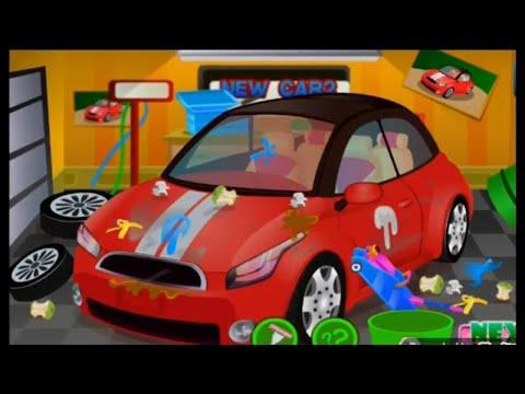 car wash/ kid car wash garage/car repair/ best app for kid