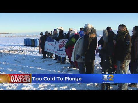 Polar Plunge Called Off Due To Arctic Blast