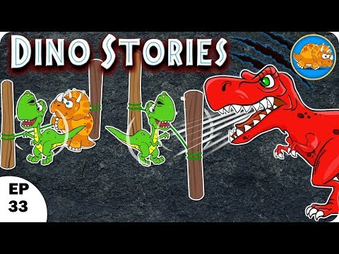 making sounds l Dino Stories l Dinosaurs Cartoon For Children | Dinosaur Story for kids l Ep - 33