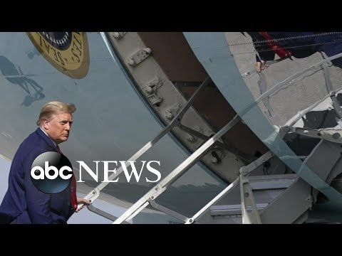 Trump plans military-style send-off for himself …