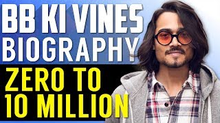 Bhuvan Bam Biography in Hindi | 10 Million Subscribers | BB KI VINES