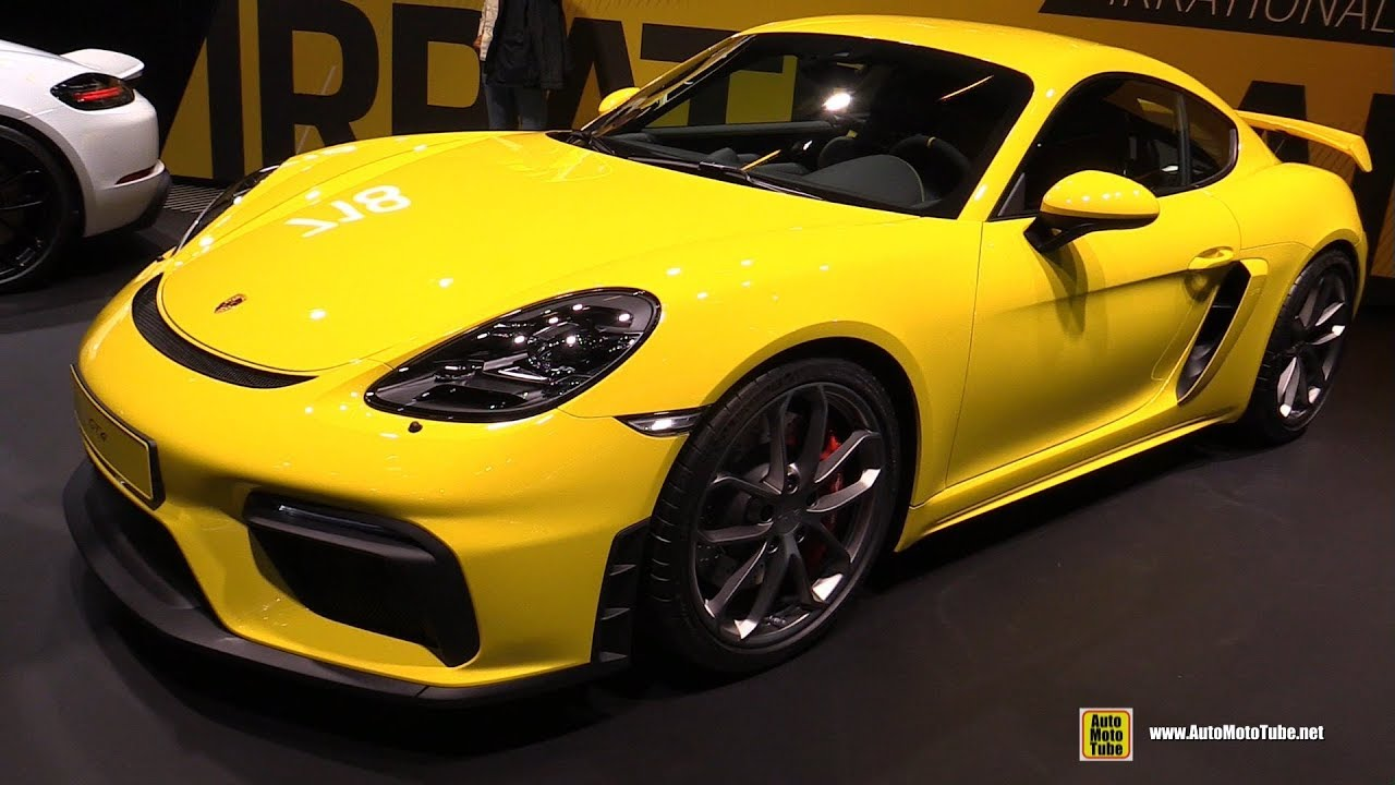 2020 Porsche Cayman GT4 - Exterior and Interior Walkaround - 2019 Frankfurt Motor Show