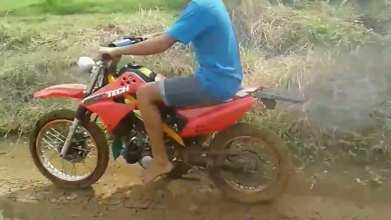 Test Motor Trail Lucu Slebor Patah Youtube