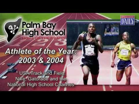Space Coast Sports Hall of Fame 2013 - Xavier Carter