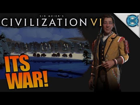 ITS WAR! | Civilization VI: Rise and Fall | Let's Play Gameplay | S02E04