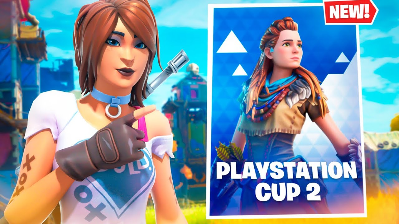 Is There Going To Be A Playstation Cup Fortnite I M Winning The New Playstation Only Fortnite Cup Aloy Console Tournament Youtube