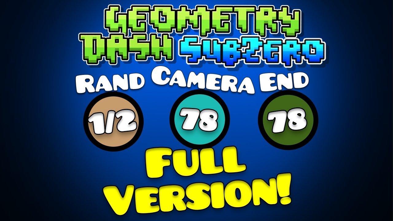 geometry dash subzero apk full version