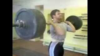 155 кг толчок с груди