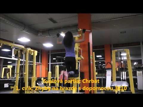 Tréningové tipy na ramená - Videoséria pre ženy s Domčou