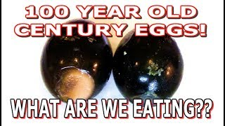 Chinese Century Eggs - 100 Year Old Eggs - WHAT ARE WE EATING?? - The Wolfe Pit