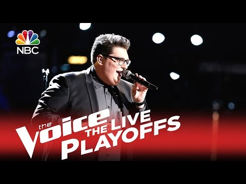 The Voice USA 2015 Live Playoffs - Jordan Smith sings