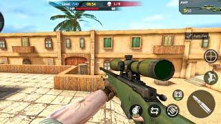 Commando Strike 2021: Multiplayer FPS-Cover Strike _ Android GamePlay screenshot 1