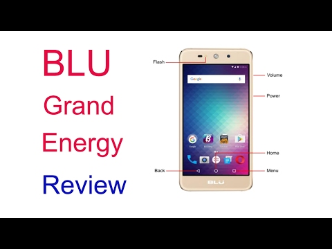 Blu grand energy review, Features, Specification and opinion