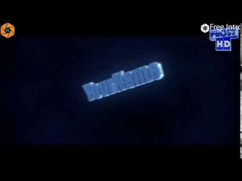 FREE BLUE 3D Intro Template #02 Cinema 4D & After Effects