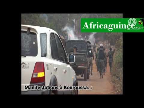 Violences à Kouroussa : Comment l'armée a réprimé la contestation...