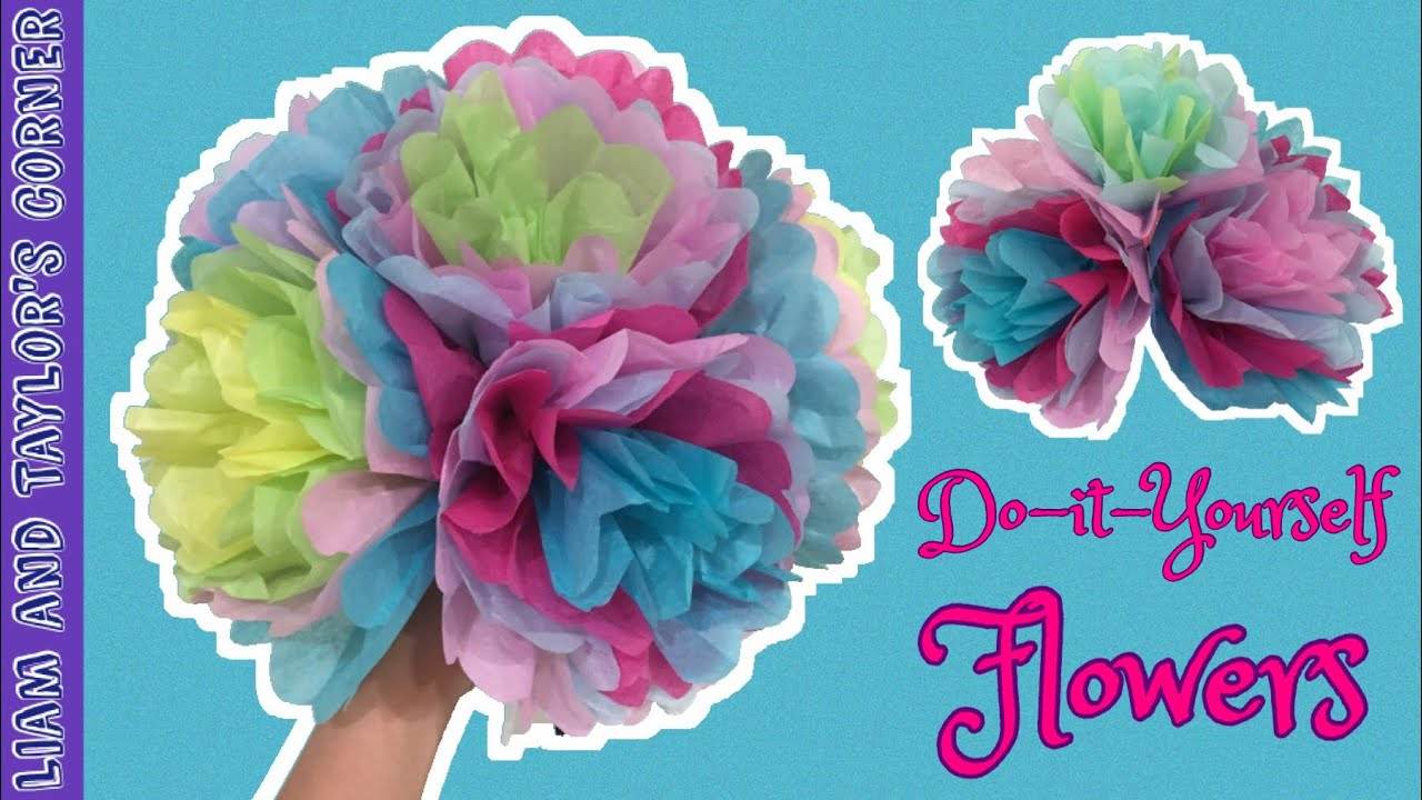 Do It Yourself Tissue Paper Flowers For All Occasions Never Wilt