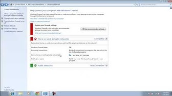 How to Turn off Windows Firewall in Windows 7