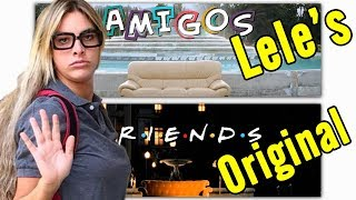 """Comparing Lele Pons """"FRIENDS"""" Remake to the Original"""
