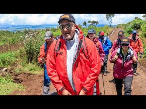 Balala leads Mt. Kenya climb to spur growth in tourism, Press Review