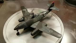 Revell 1/48 scale Me 262 A-1a Final