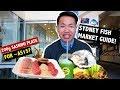 CHEAP FOOD GUIDE + TIPS @ SYDNEY FISH MARKET Vlog! 🐟🇦🇺
