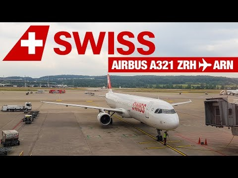 TRIP REPORT | Swiss A321 from Zürich | Delayed by thunderstorm